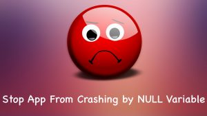 Avoid Crash when Null Value Comes