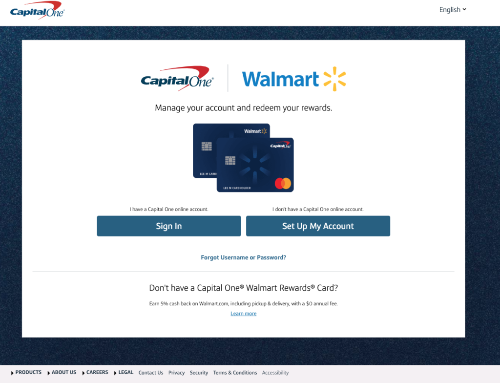 www.walmart.capitalone.com/activate